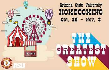 Homecoming - The Greatest Show, October 28 - November 3
